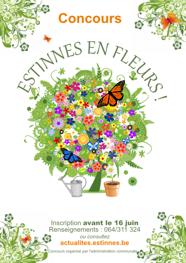Concours Estinnes en fleurs