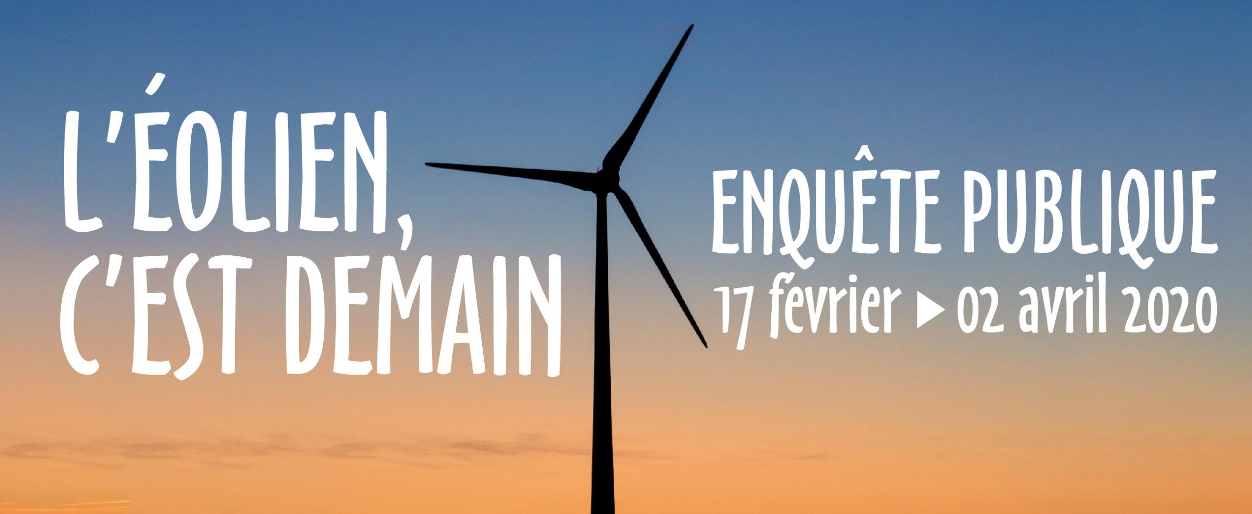 Enquête publique : Exploitation et Acoustique des éoliennes