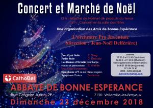 Concert et Marché de Noël à Bonne-Espérance