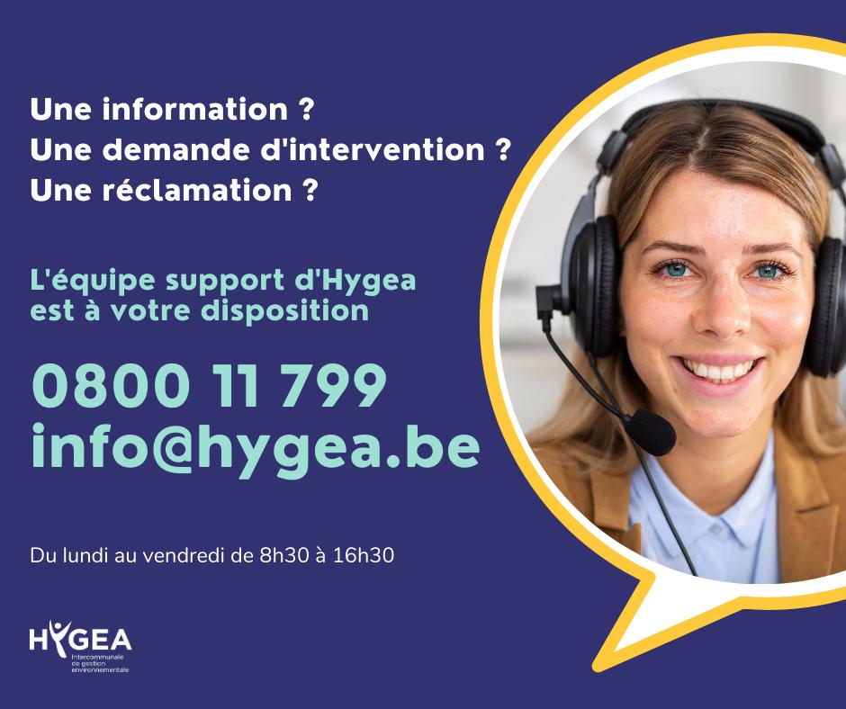 Hygea – Mise en place d'un call center dès ce 4 mai