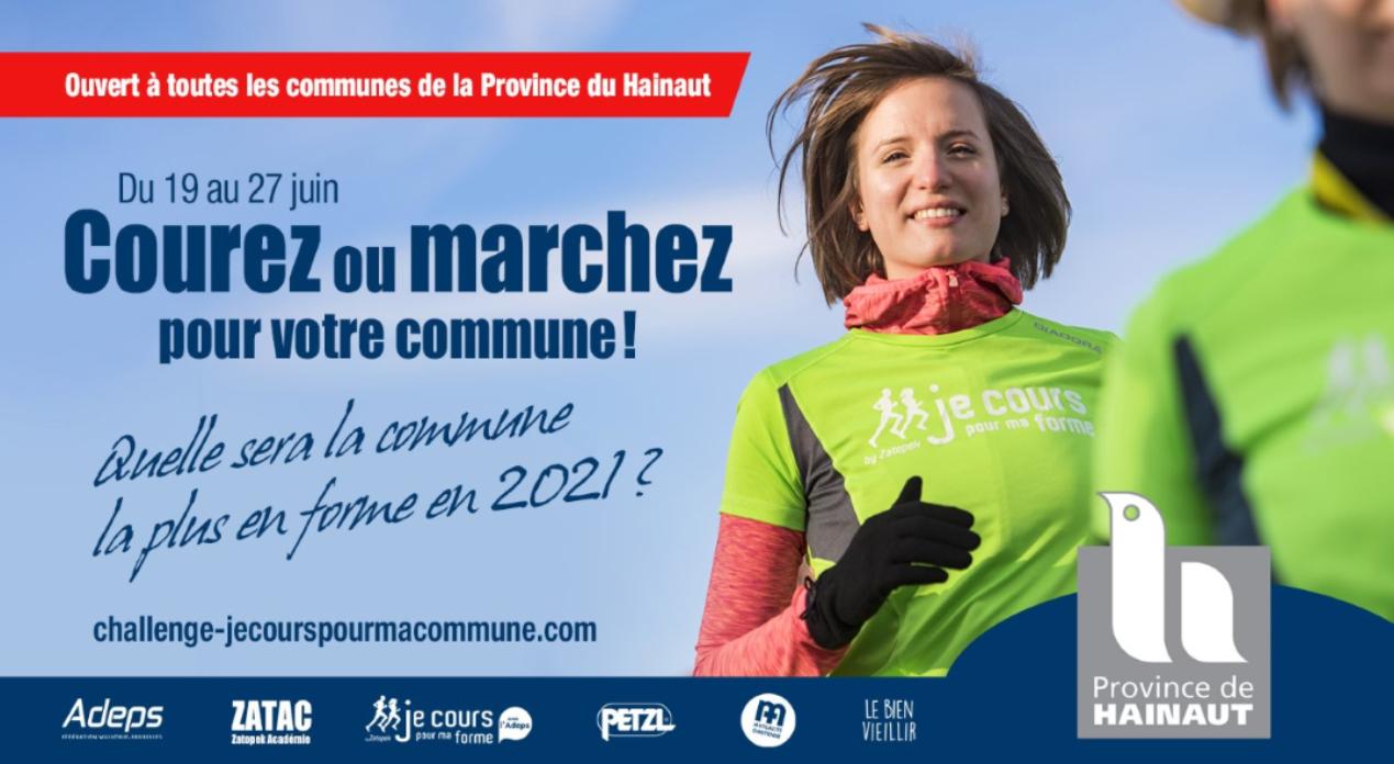 « Je COURS pour Ma commune …Je MARCHE pour Ma commune »