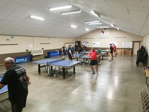 Les horaires d'entraînements de tennis de table du RCTT Peissant-Vellereille