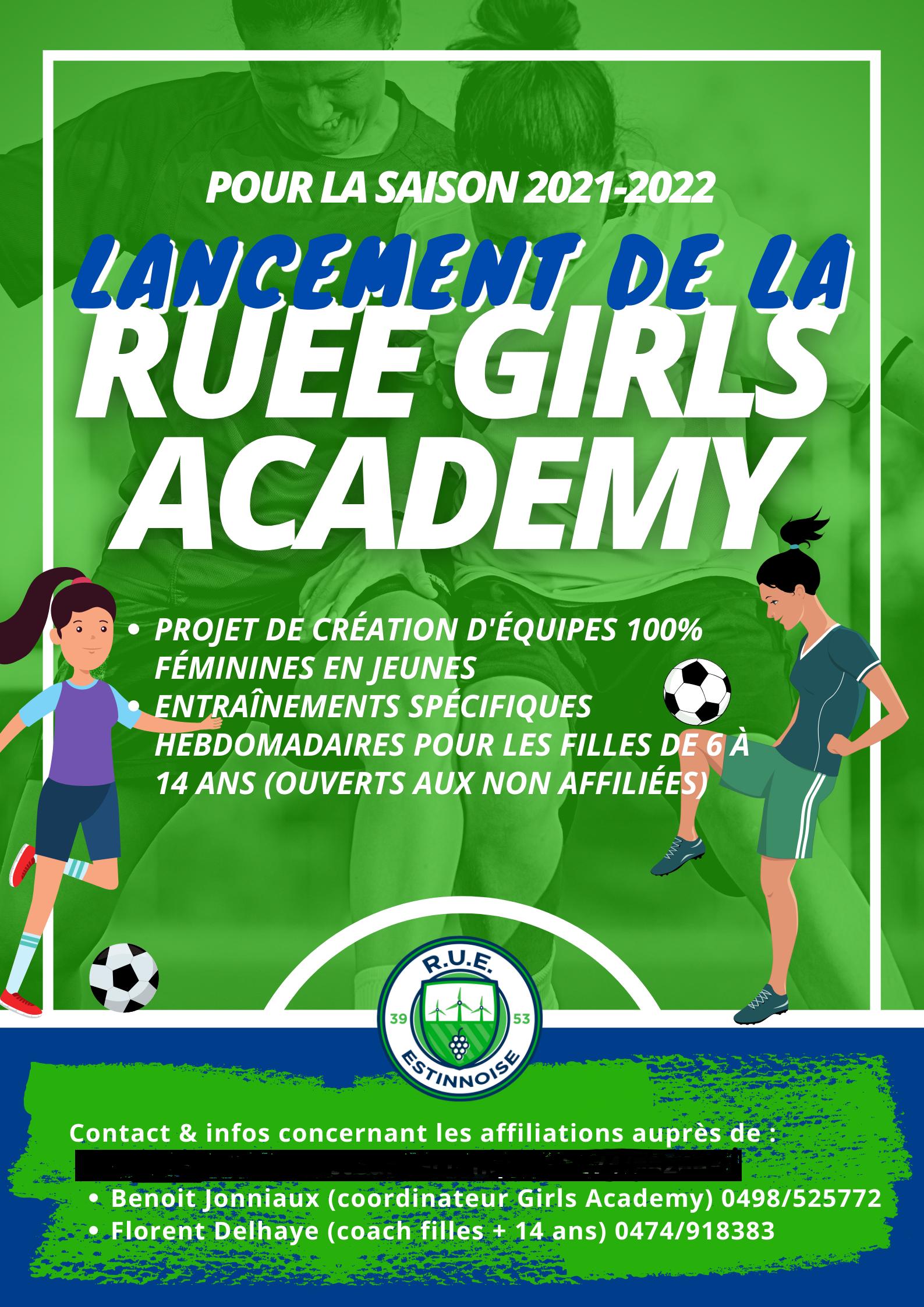 Lancement de la R.U.E.E. Girls Academy