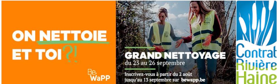 Grand Nettoyage de Printemps & Opération Rivière Propre